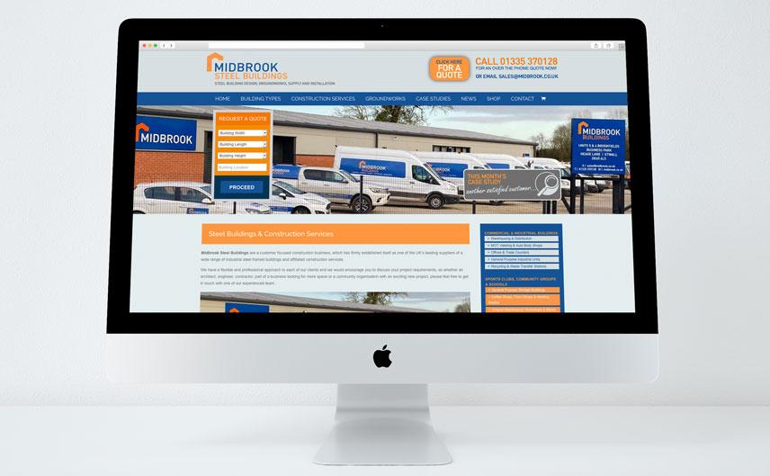 midbrook steel buildings website