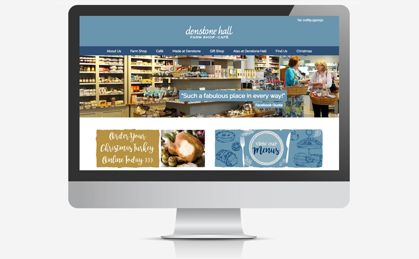 denstone-hall-farm-shop-website-design