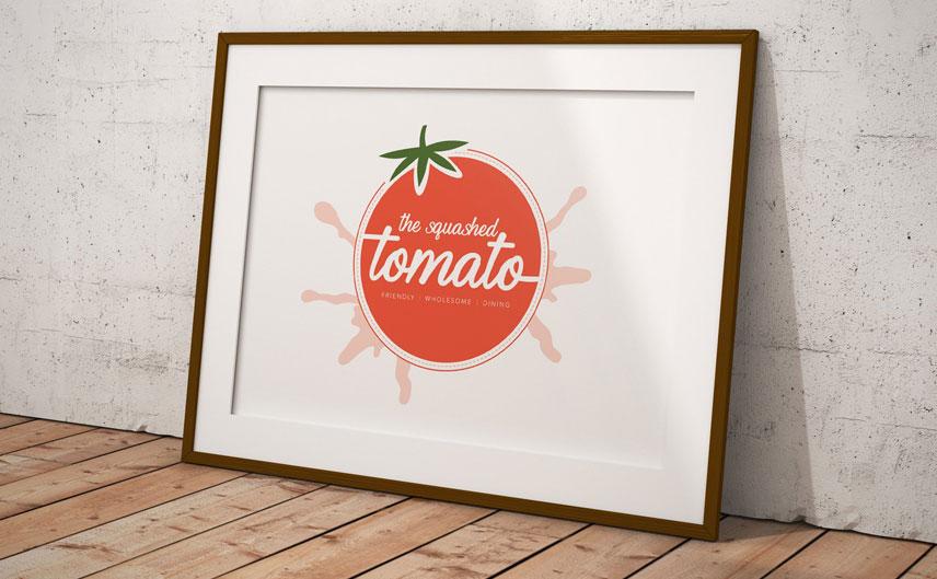 the-squashed-tomato-logo-design