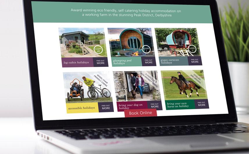 Hoe-Grange-Holidays-Website
