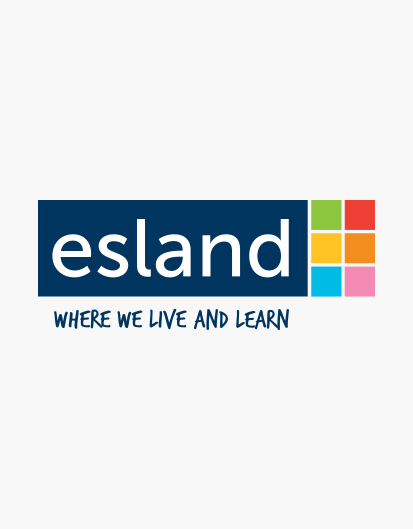 esland care logo design by ego
