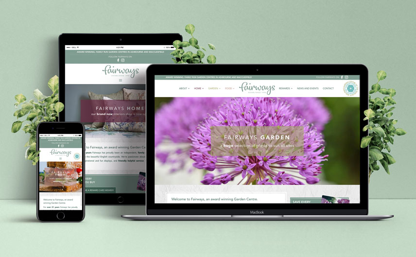 fairways garden centre website