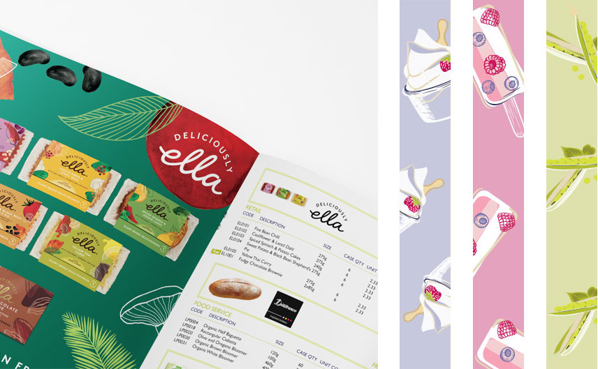 deliciously ella catalogue and illustrations