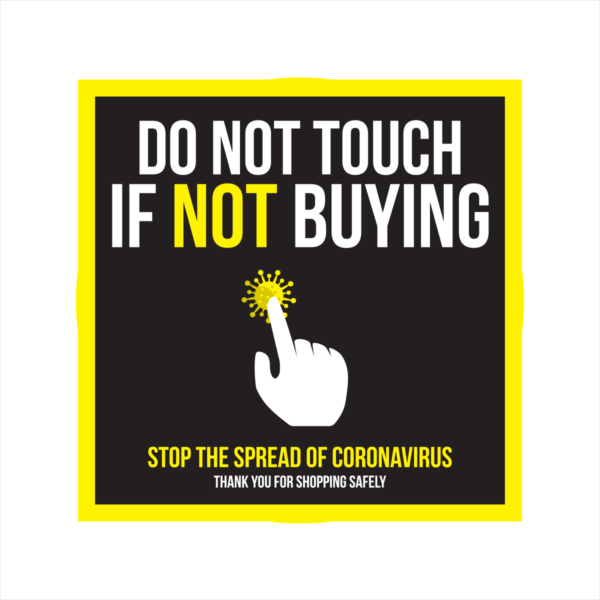 do not touch if not buying floor sticker